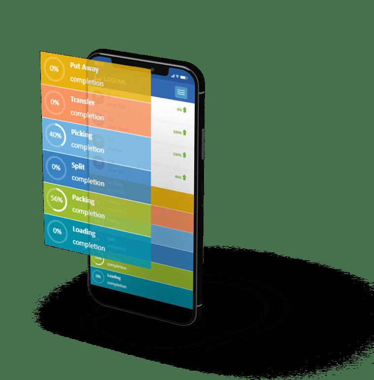 logiwa amazon warehouse management solution - screen